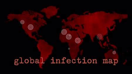 cuarentena : Red Global de Infecciones Mapa Epidemia
