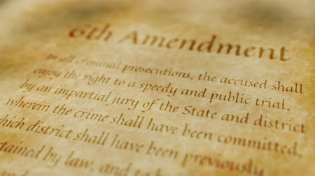 amendment : Historic Document 6th Amendment