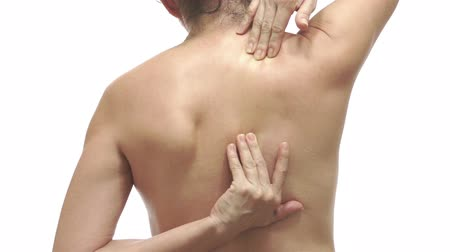 kaslı : Woman With Back Pain Color