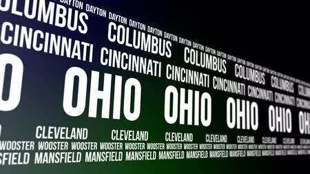 dayton : Ohio State and Major Cities Scrolling Banner