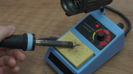 solder : Industrial Soldering Iron Cleaning