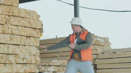 cooperative work : The Tree Builder Working Stock Footage