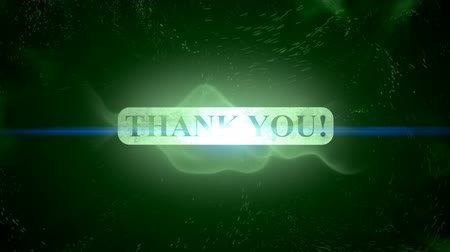 sayesinde : Thank you text banner intro outro