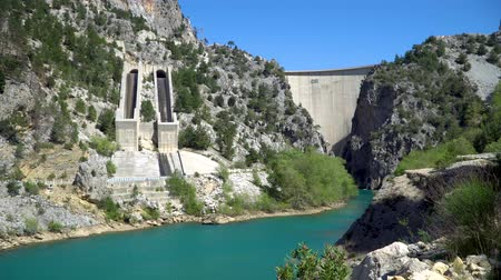 antalya : Oymapinar, Turkey - March 2019: Green Canyon in Oymapinar Dam area, Antalya, Turkey