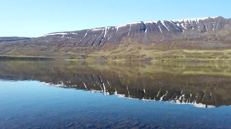 tampado : Lake Ljosavatn, also called mirror lake in North Iceland near Akureyri on a summer day. Vídeos