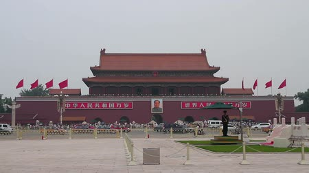 elnök : Tiananmen square at daytime HD