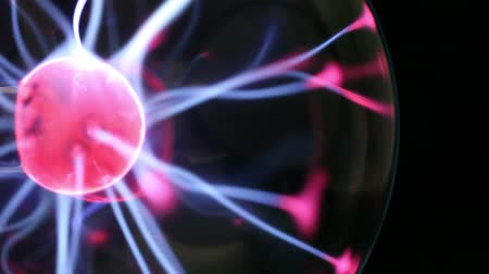 irradiar : Electrical discharge in a glass sphere