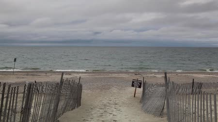 morina : Cape Cod Sandy Neck Beach in Barnstable Massachusetts USA