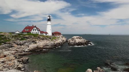 atlantique : Le Phare Lighthouse Portland à South Portland Maine  Portland Headlight