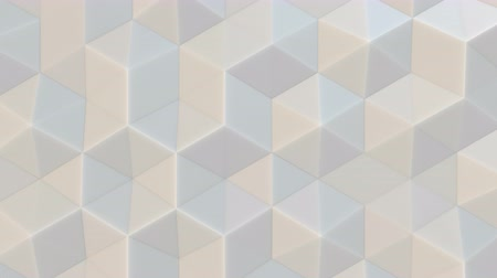 серый фон : 3D polygonal abstract backgraound video, 4K seamless loop