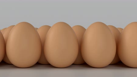 render : Eggs. Ideal for everything related to healthy food, Easter, egg production and the food industry in General. Symbolizes the differences one with the other