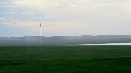 поле для гольфа :  Algarve golf course scenery at Ria Formosa conservation marsh