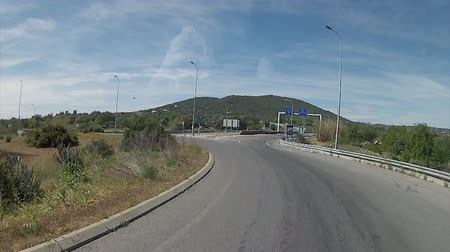 тур : Algarve A22 road acess, Bus Travel frontal camera point of View