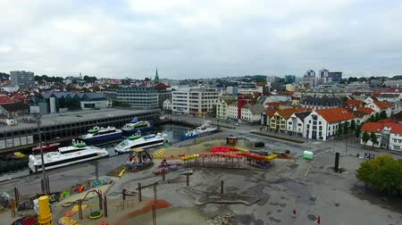 Amusement park in a center of Stavanger