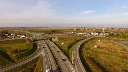 külvárosok : The road junction, top view