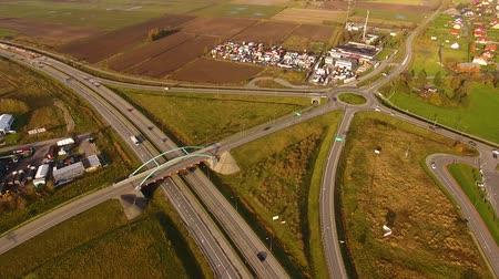 outskirts : The road junction, top view