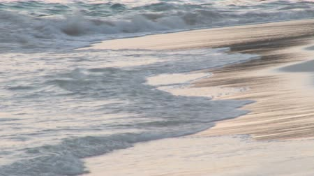 bermudas : close up of waves on bermuda shore Vídeos