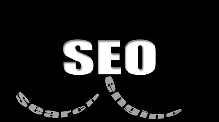 Video seo - search engine optimization web, nube parola