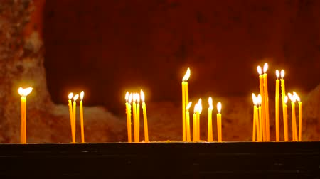 inspiradora : Lots of Candles in an Ancient Monastry.