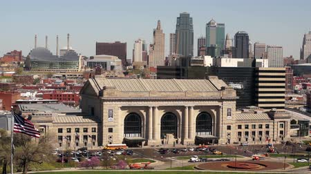 Union Station Kansas City Downtown Skyline