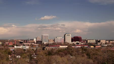molas : Colorado Springs Downtown City Skyline