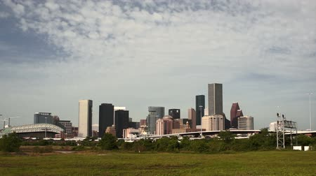Houston Texas Downtown City Skyline