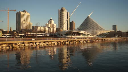 centrum : Milwaukee Waterfront Buildings Architecture Lake Michigan Dostupné videozáznamy