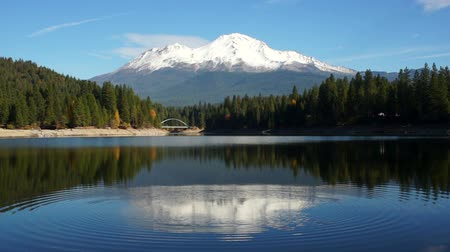 montar : Mt Shasta Mountain Siskiyou Lake Bridge California Recreation Landscape
