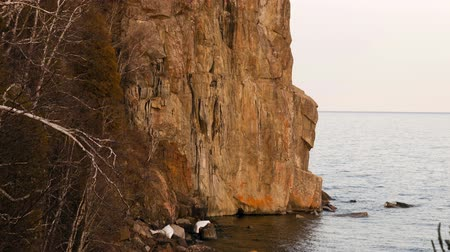 раскол : Split Rock Lighthouse Lake Superior Minnesota United States