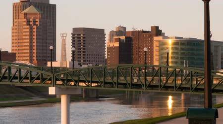 dayton : Dayton Ohio Downtown City Skyline Great Miami River