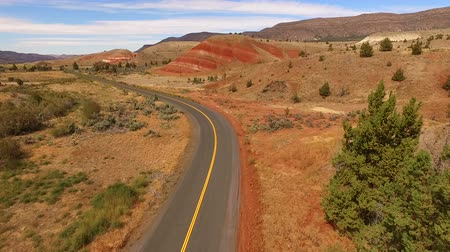 outside view : Painted Hills Fossil Beds Oregon State USA North America