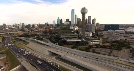 usa : Downtown Dallas Texas City Skyline South United States North America