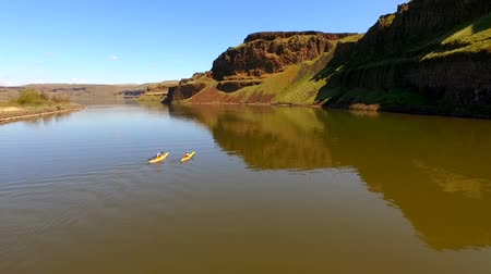 cobra : Twin Yellow Kayaks Enter Palouse River Rowing Outdoor Recreation