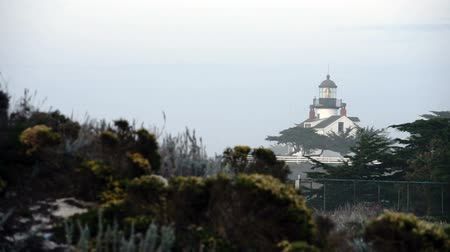 Point Pinos Light is Tucked into a Tight Area built in 1855