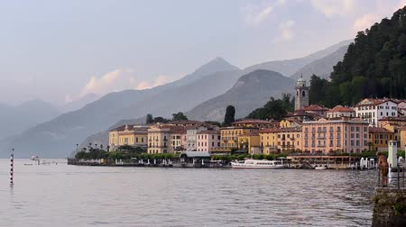 bellagio : Lake Como view and Bellagio city, Italy