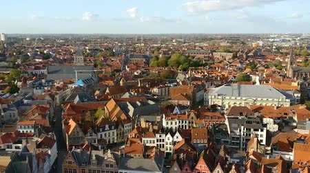 bruges : Bruges city view taken from Church of Our Lady