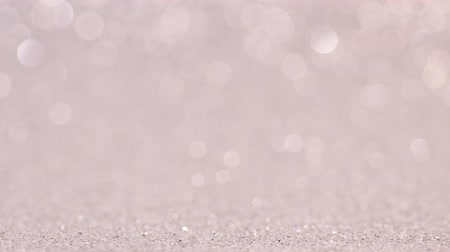 gray background : Gray Christmas or New Year festive background Stock Footage