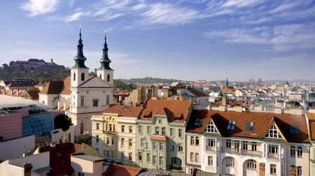 Čechy : View of Brno skyline, Moravia, Czech Republic