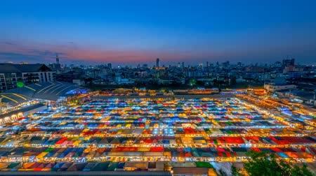 apodrecendo : Colorful of the Ratchada train market in Bangkok,Thailand