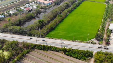 asfalto : Aerial view of highway