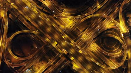 viagens de negócios : Aerial View of traffic transportation,bird eye view