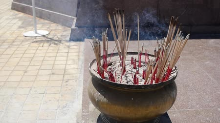 The nine incense for worship.