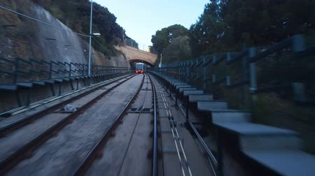Каталония : The Funicular de Vallvidrera in Barcelona, Catalonia, Spain