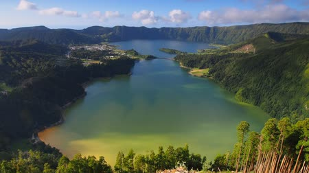azorean : Lagoa das Sete Cidades - Lagoon of the Seven Cities, lake on Sao Miguel Island, Azores, Portugal