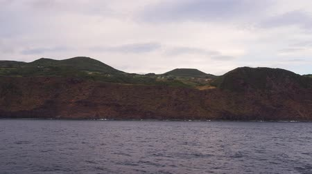 azorean : Sao Jorge Island – view from the ferry, Azores, Portugal