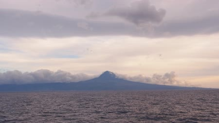 azorean : Pico Island – view from the ferry, Azores, Portugal