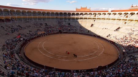 býci : Plaza de Toros de Las Ventas - Bullring in Madrid, Spain
