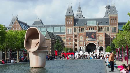 Западная Европа : Rijksmuseum at the Museumplein, Amsterdam, North Holland, The Netherlands