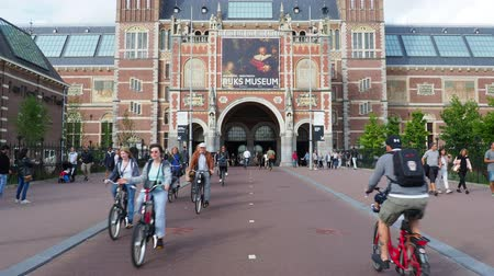 dopis : Rijksmuseum at the Museumplein, Amsterdam, North Holland, The Netherlands