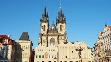 Богемия : Church of Our Lady before Tyn, Old Town Square, Prague, Bohemia Region, Czech Republic